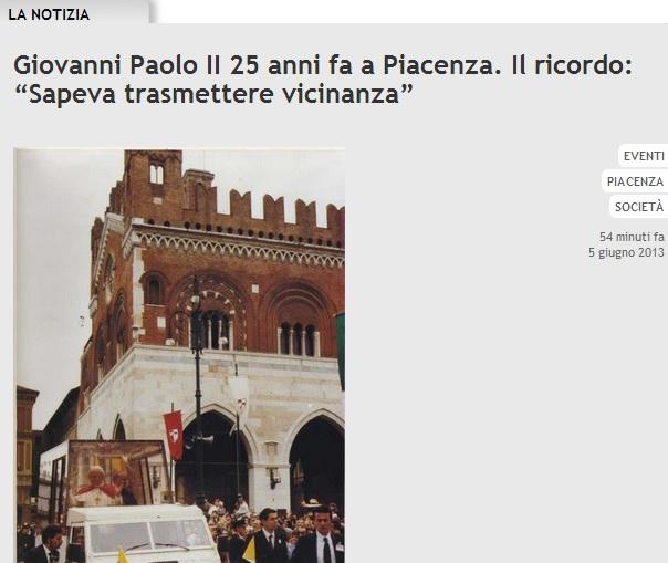 giovanni paolo II