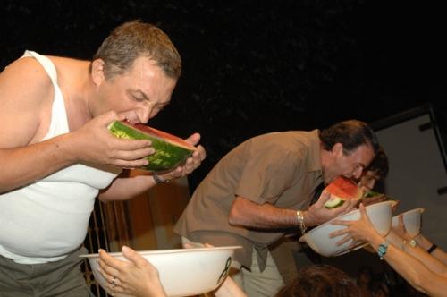 mangiatori di angurie